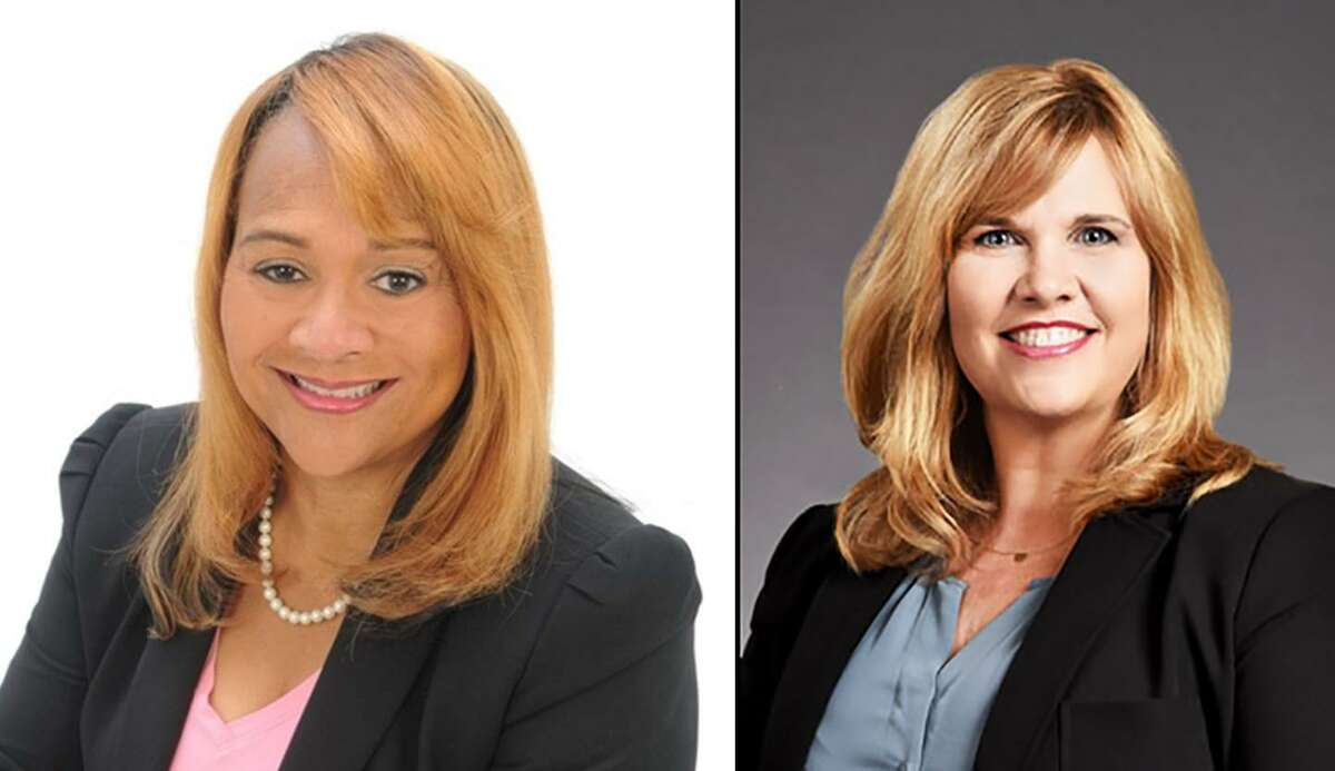 Shirley Rose Gilliam (left) and Kristin Tassin (right) are candidates for Fort Bend County trustee position 4 in the upcoming November 3 election.