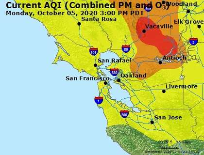 Air Quality Worsens In Parts Of Bay Area As Wind Spreads Glass Fire Smoke Sfchronicle Com Burning wrapping paper is prohibited. wind spreads glass fire smoke