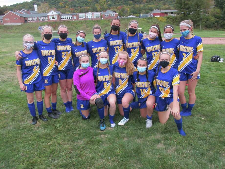 Coronavirus or not, Housatonic's girls soccer team is focused on defending its Berkshire League title this season. Photo: Peter Wallace / For Hearst Connecticut Media