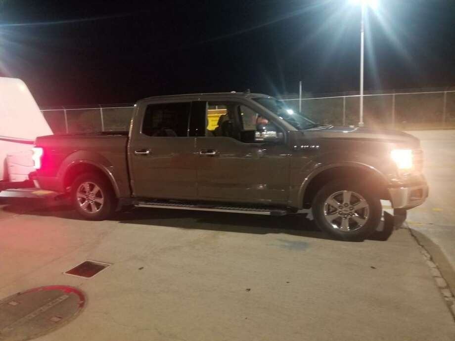U.S. Border Patrol said this vehicle was reported stolen. Authorities said it was used during a human smuggling attempt. Photo: Courtesy Photo /U.S. Border Patrol