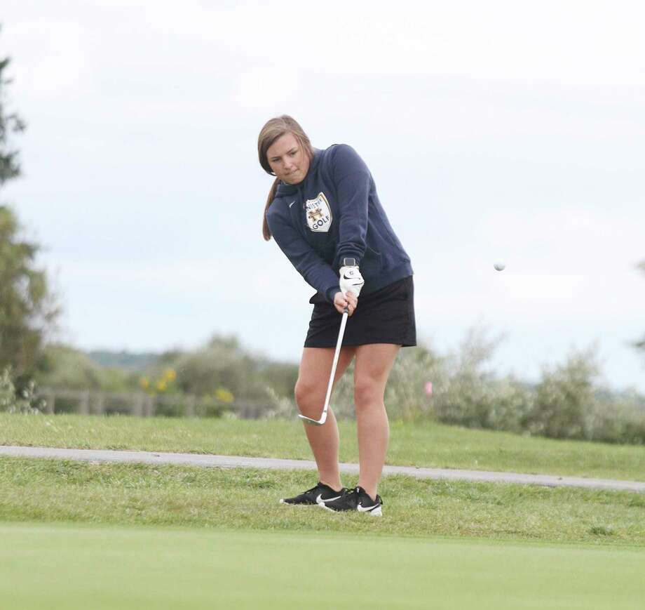 Manistee junior Sara Danison qualified for the Division 4 state finals on Monday with her performance in the Chippewas' regional round. (News Advocate file photo)