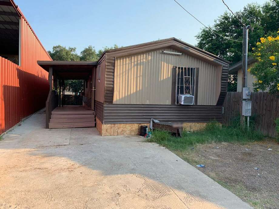 Authorities said they discovered more than 20 people inside this house. All were determined to be immigrants who had crossed the border illegally. Photo: Courtesy Photo /U.S. Border Patrol