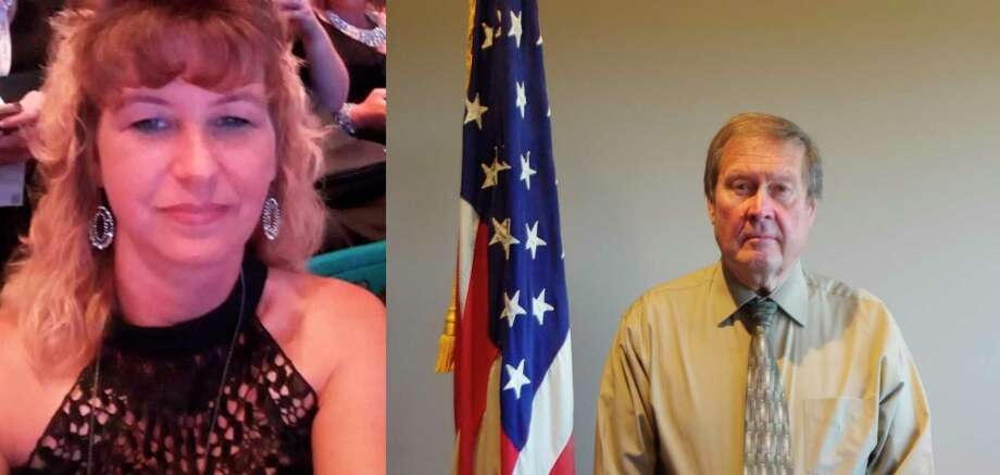 Republican Nikki Koons (left)looks to unseatDemocrat Gene Lagerquist for the Manistee County Board of Commissioners 3rd District. (Courtesy Photo)