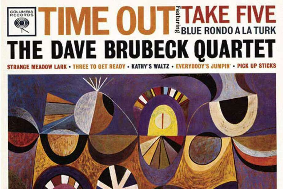 """The cover for the Dave Brubeck Quartet's """"Time Out"""" album is an inspiration for Wilton Library's jazz art contest."""