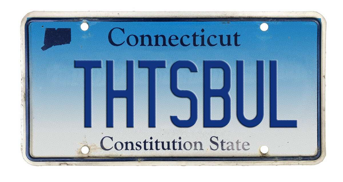 License plate text: