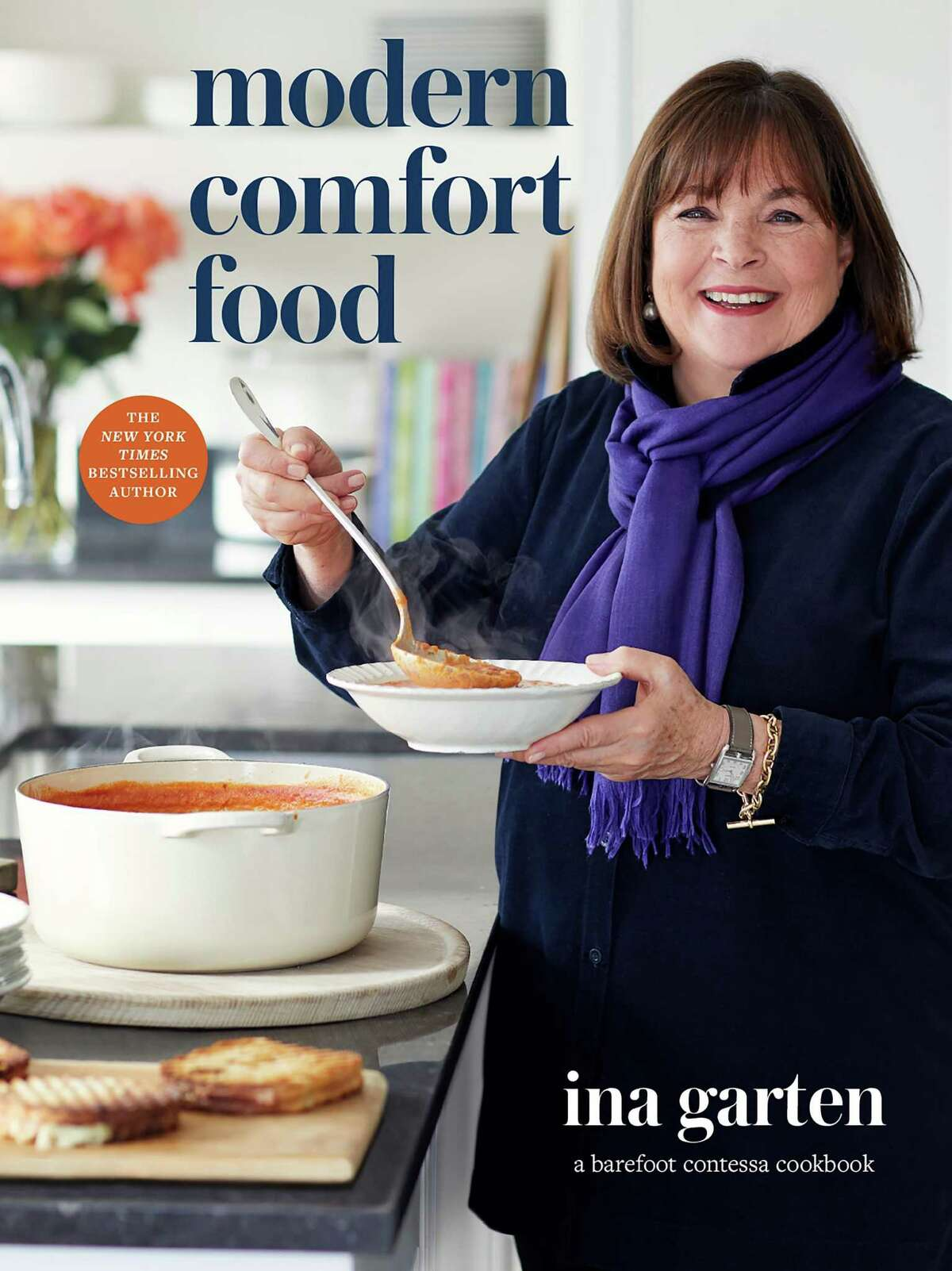 """""""Modern Comfort Food"""" is Ina Garten's 12th cookbook. Published this week from Clarkson Potter, its recipes for easy, satisfying dishes are perfect for pandemic cooking, the author says."""