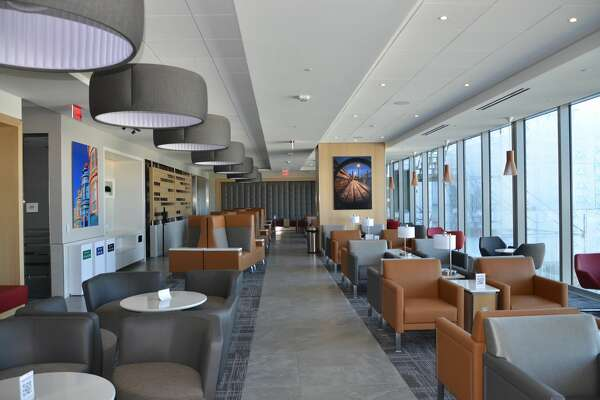 American Airlines' new Admirals Club opened at SFO's Harvey Milk Terminal 1 on Nov. 6, 2020