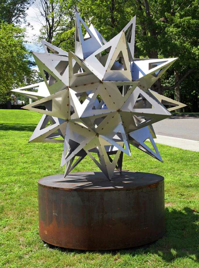 "The exhibit ""Frank Stella's Stars, A Survey"" at the Aldrich Contemporary Art Museum showcases artwork such as ""Jay's Star."" Photo: Frank Stella / Contributed Photo"