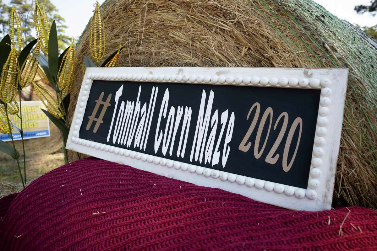 The Tomball Corn Maze opened it's season welcoming families to visit it's 5-acre field, Oct. 3, 2020, in Tomball. The corn maze offers a variety of activities for families to partake in during their visit.