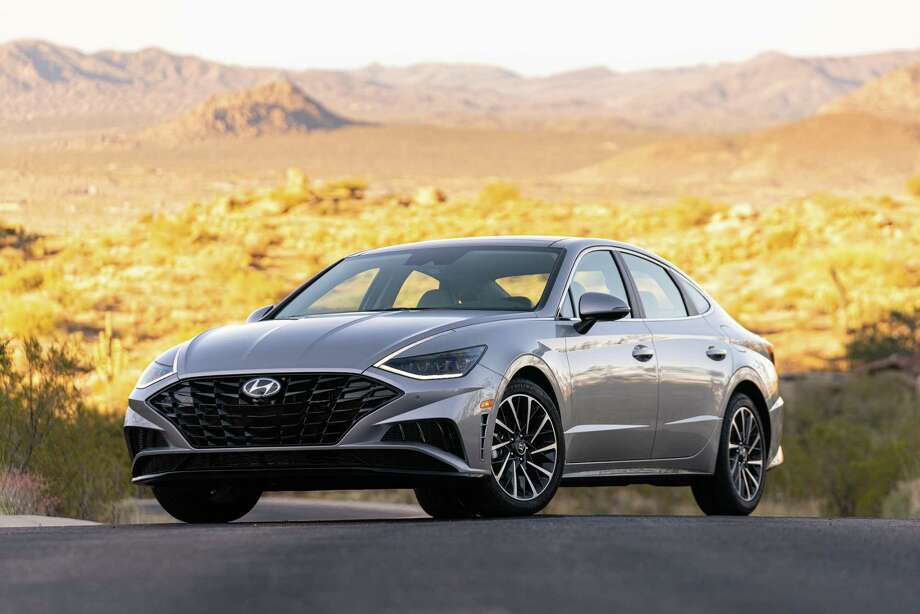 The redesigned 2020 Hyundai Sonata is a spacious sedan loaded with luxury features. Photo: Hyundai Media Center / Contributed Photo / Dewhurst Photography