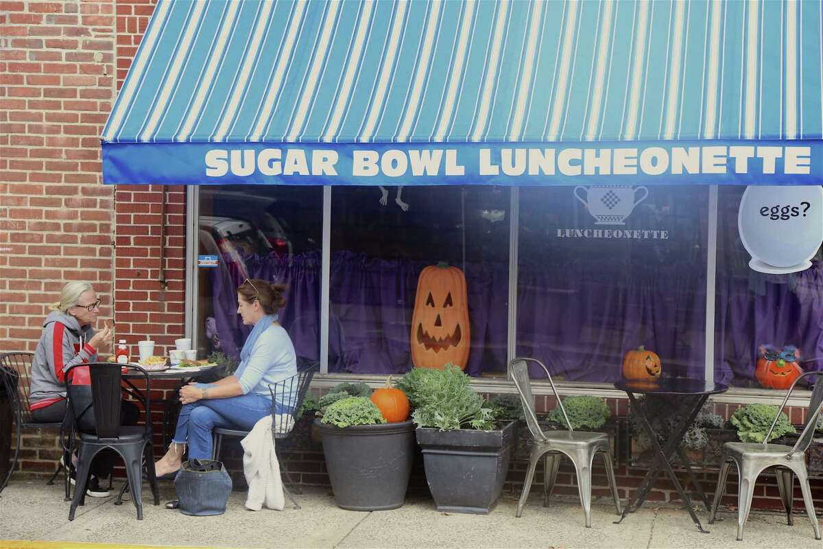 The Sugar Bowl Luncheonette is hoping that, as the weather gets cold, people will discover that there's lots of safe indoor seating too.