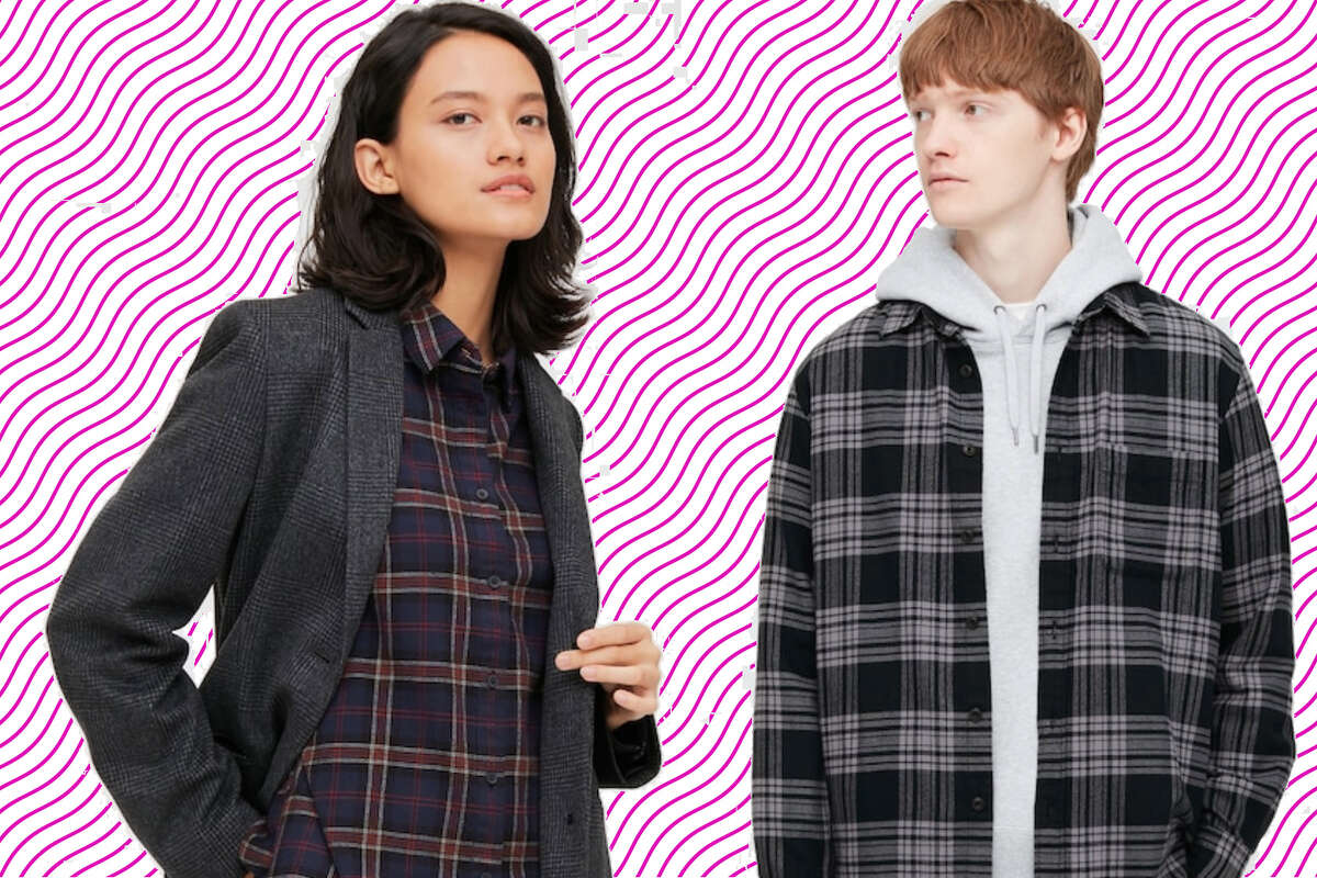 Men's and women's flannels, $19.90 at Uniqlo