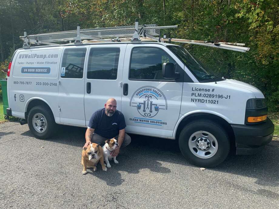 Ralph Espinal is the owner of Housatonic Valley Well Pump Services in New Milford. Photo: Courtesy Of Housatonic Valley Well Pump Services / Danbury News Times