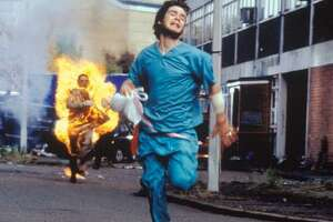 """The zombies are fast in """"28 Days Later."""""""