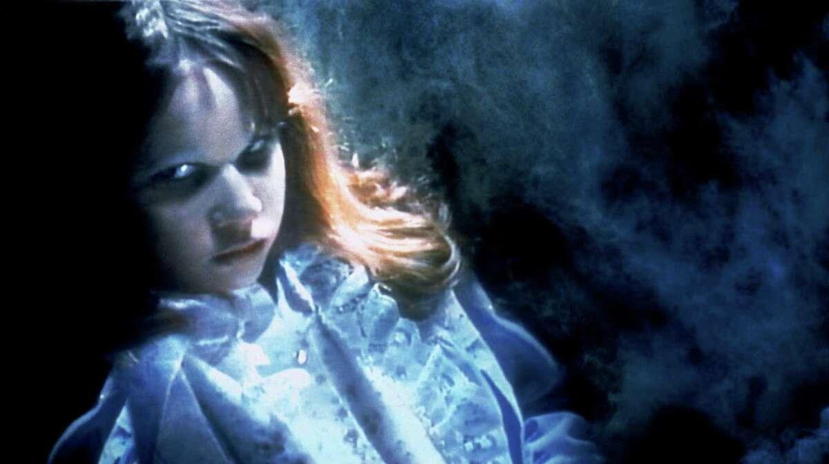 Linda Blair portrays a possessed girl in