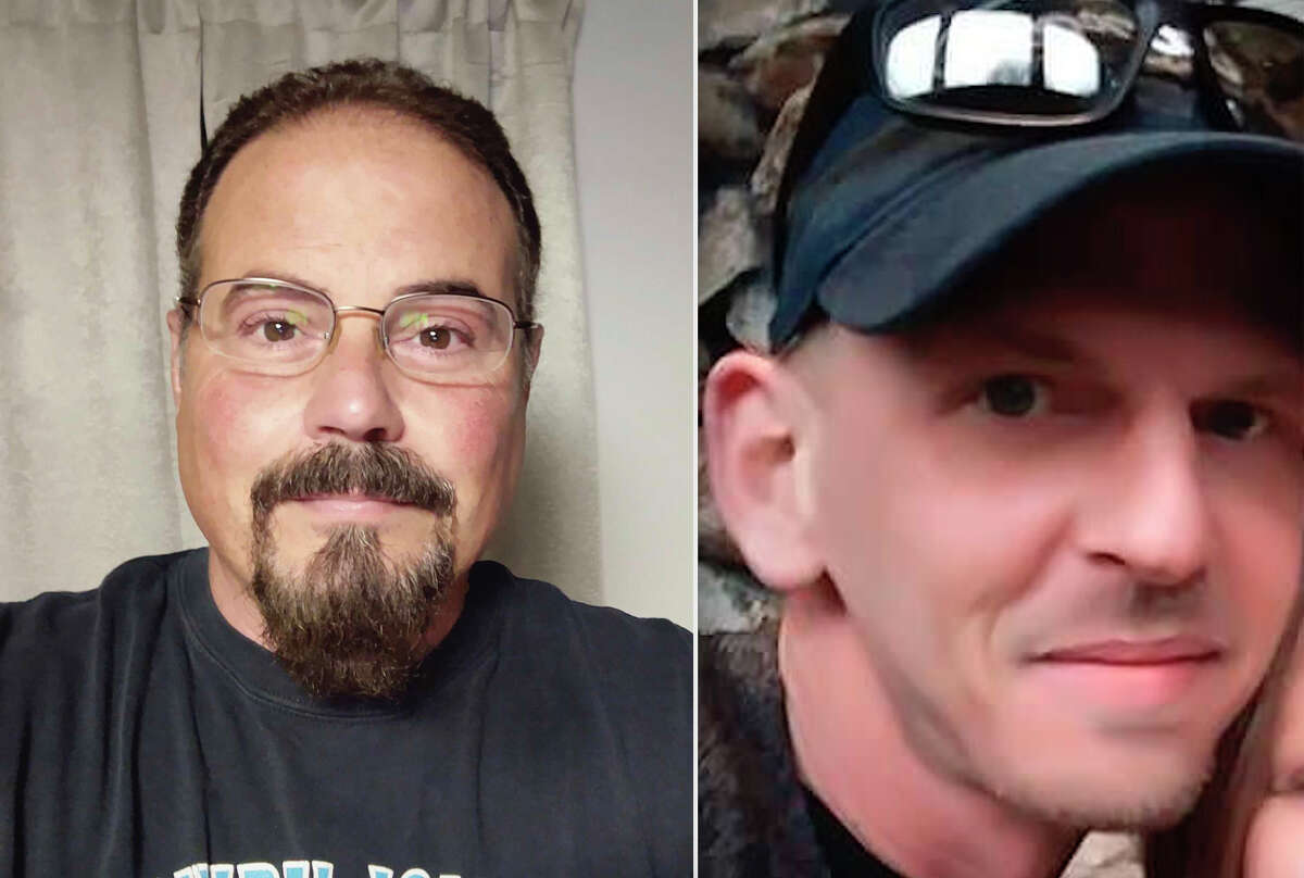 James Soriano (left) and Thomas Gilleran (right) are two of three candidates running for the village of Barryton president seat. Jeff Nelson is the third candidate running.