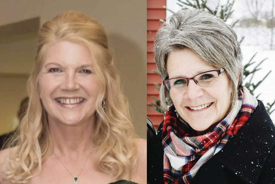 Joy L. Moorman (left) and Connie Grant (right) are the two candidates running for the open Martiny Township clerk seat. Photo: Submitted Photo
