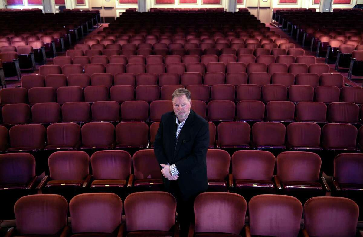 Executive Director John Fisher photographed at the Shubert Theatre in New Haven on Oct. 6, 2020.