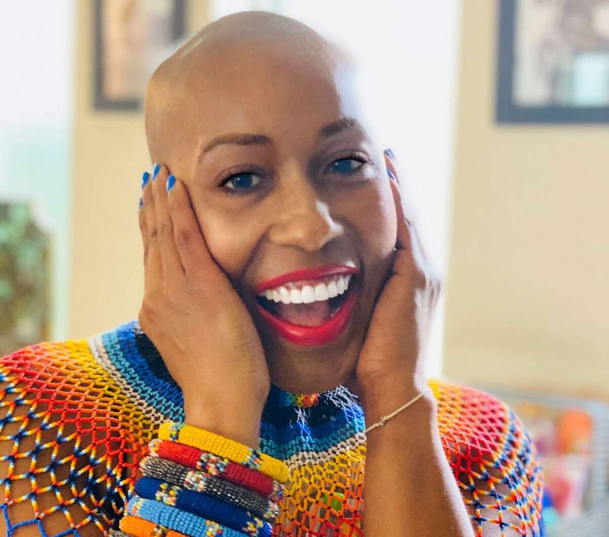 Tova Parker of Spring was diagnosed at Houston Methodist Willowbrook Hospital with breast cancer at age 41. She was declared cancer free on Juneteenth.