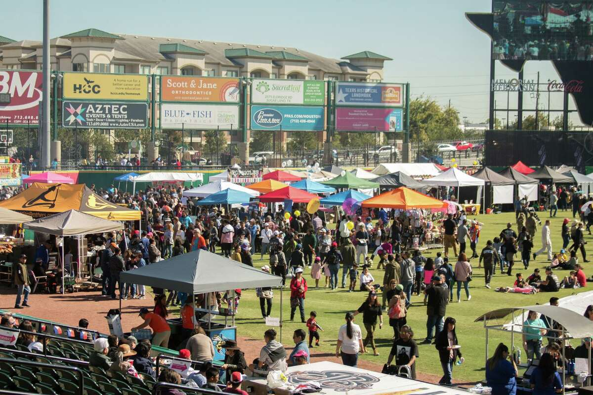 Thousands of people attended the Filipino street festival to enjoy food, music, performances and celebrate Filipino culture on Nov. 9, 2019 at Constellation Field in Sugar Land, Texas.