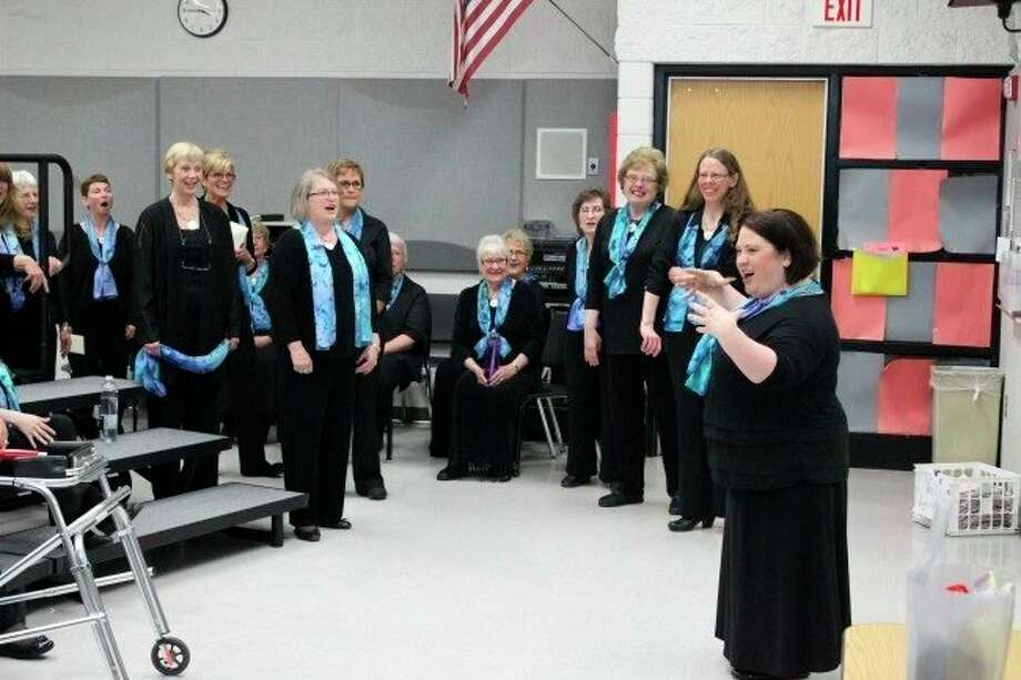 Voca Lyrica rehearses for a previous concert. Currently, the group is looking forward to some upcoming outdoor events in October. (Pioneer file photo)