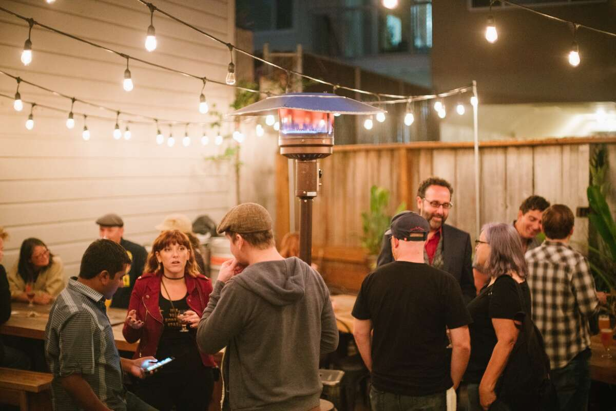 A crowd gather at Old Devil Moon in 2017. The bar is celebrating its four-year anniversary Oct. 7-Oct. 18, 2020.