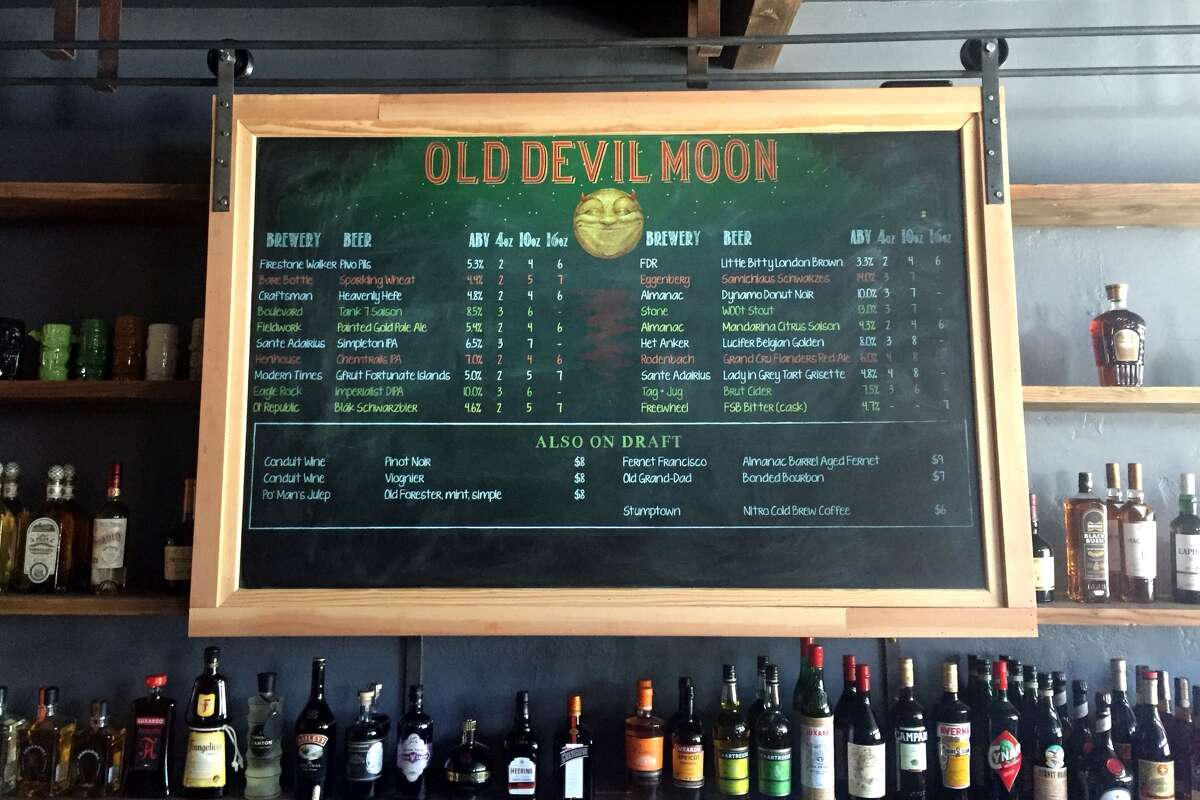 Old Devil Moon is located at 3472 Mission St. in San Francisco. The bar is celebrating its four year anniversary from Oct. 7 to Oct. 18, 2020.