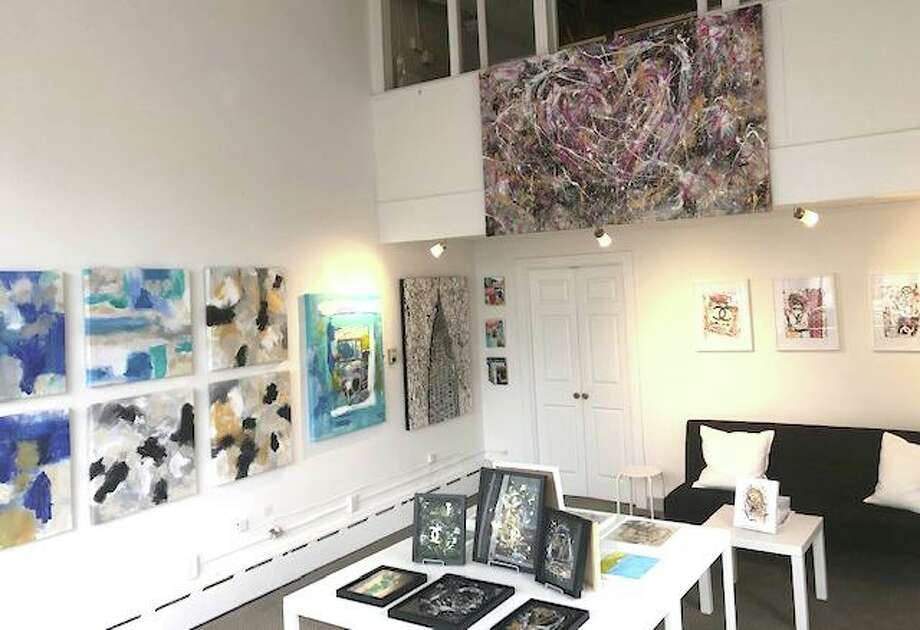 A pop-up art show featuring the work of David Morico and Dollka Morico is on display at 6 South Avenue in New Canaan. Photo: Contributed / David Morico