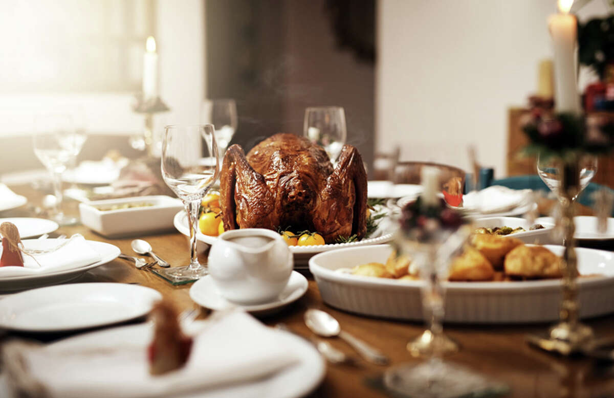 Family Thanksgiving tables could host fewer diners this year unless more people start booking flights.