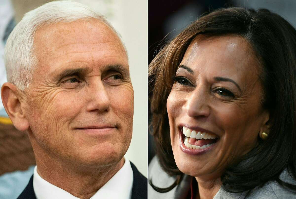 Vice President Mike Pence and Democratic vice-presidential candidate Kamala Harris are set to face off Wednesday in their only debate.