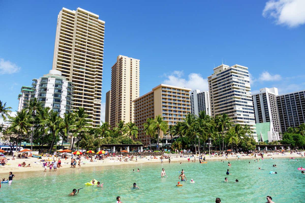 File photo of Waikiki Beach.