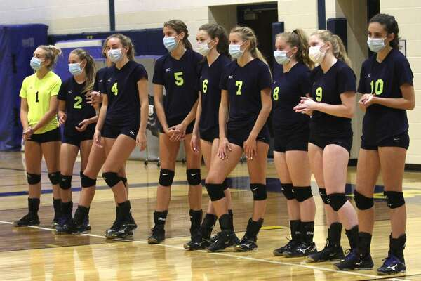 The Bad Axe varsity volleyball team beat visiting Cass City in four sets, 23-25, 25-16, 25-20, 25-20, on Tuesday night.