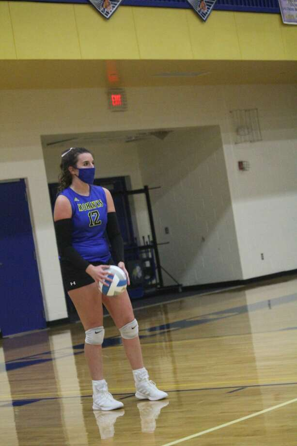It was a thriller on Tuesday with Morley Stanwood's volleyball team edging Kent City 3-2. Photo: John Raffel