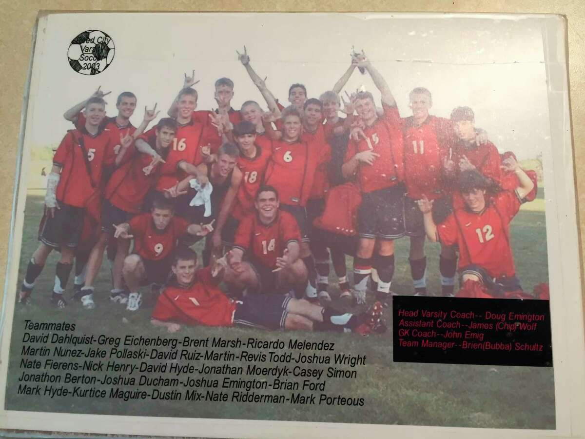 The 2005 soccer team was a special group for Reed City. (Courtesy photo)