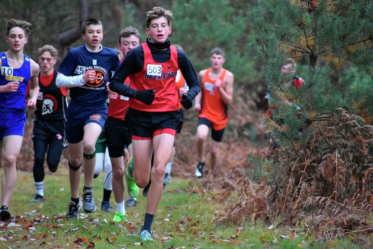 Ty Kailing continues to have a strong season for Reed City's cross country team. (Courtesy photo)