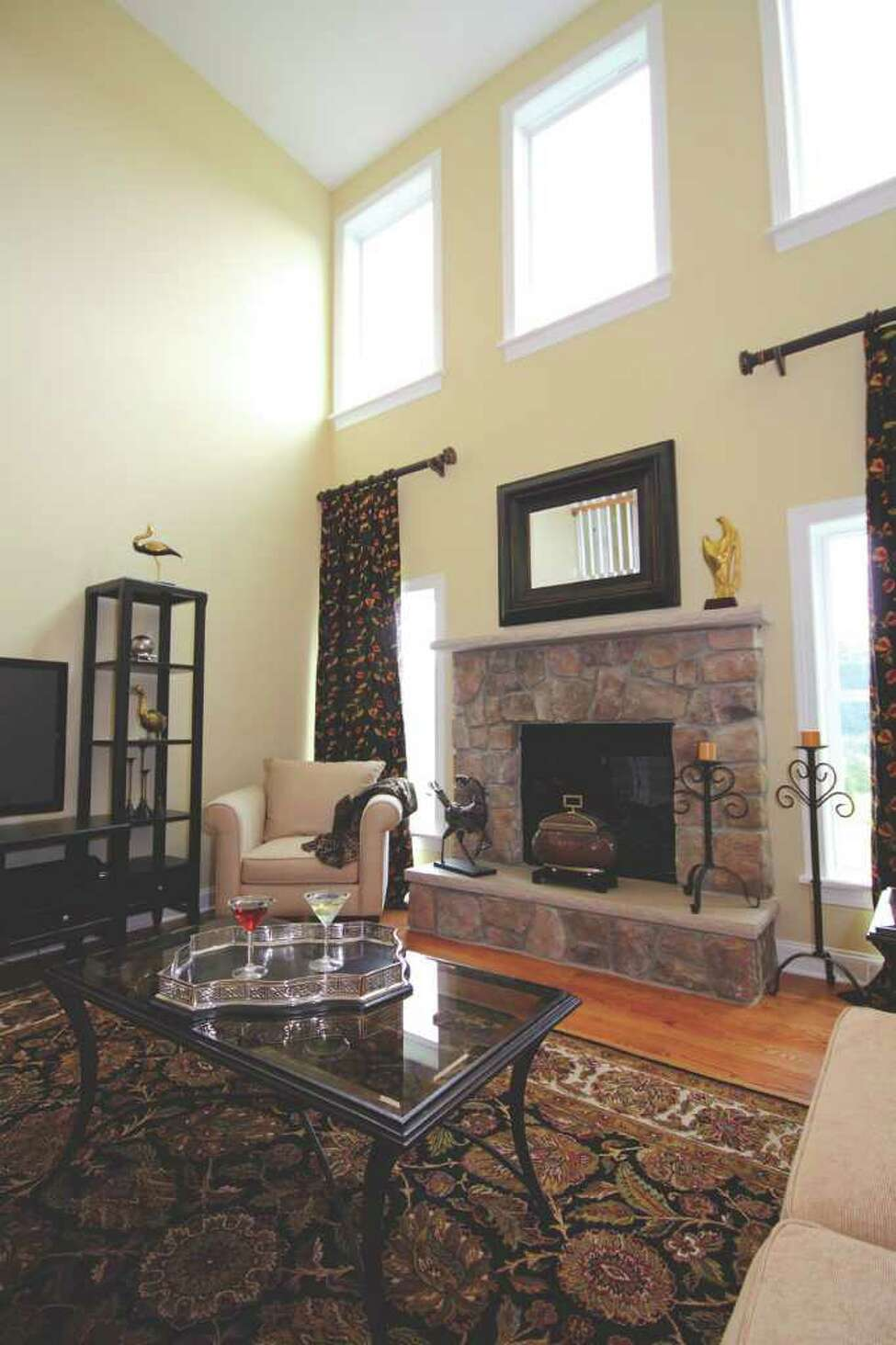 Luxury Showcase For Living Room Royal Art Deco: Great Rooms: A Sneak Peek At The Saratoga Showcase Of Homes