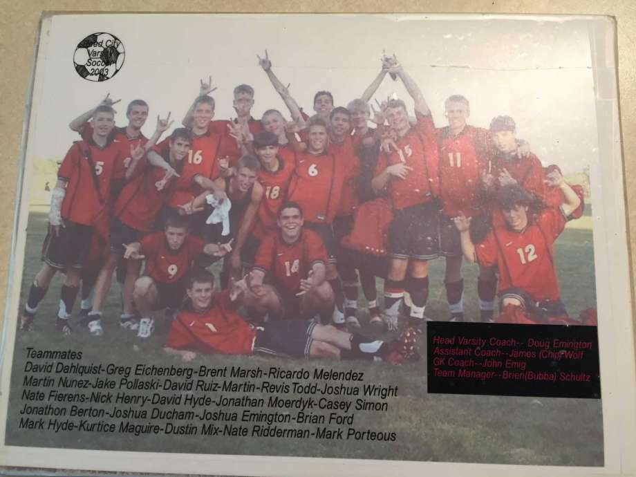 The 2005 RC soccer team was a special group. (Courtesy photo) Photo: Joe Judd