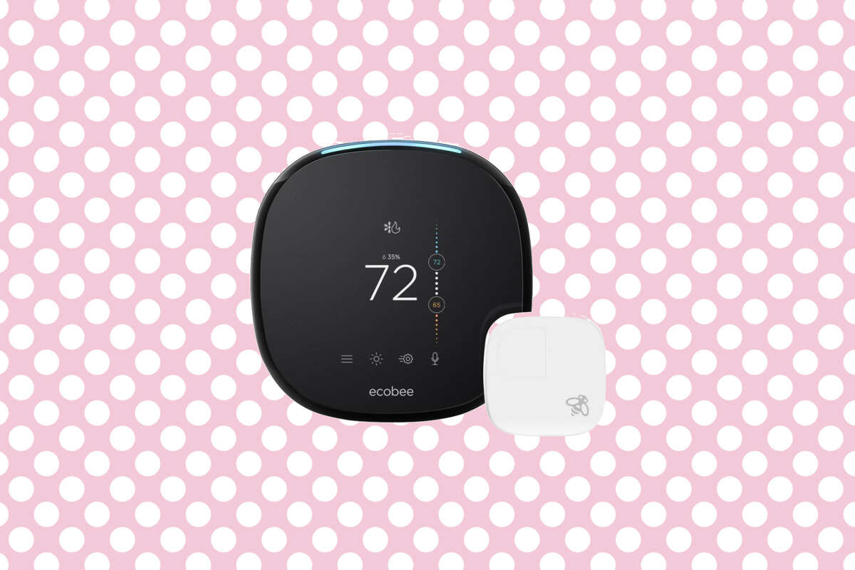 Ecobee 4 Smart Thermostat with Room Sensor and Built-in Amazon Alexa, 14% off oat The Home Depot