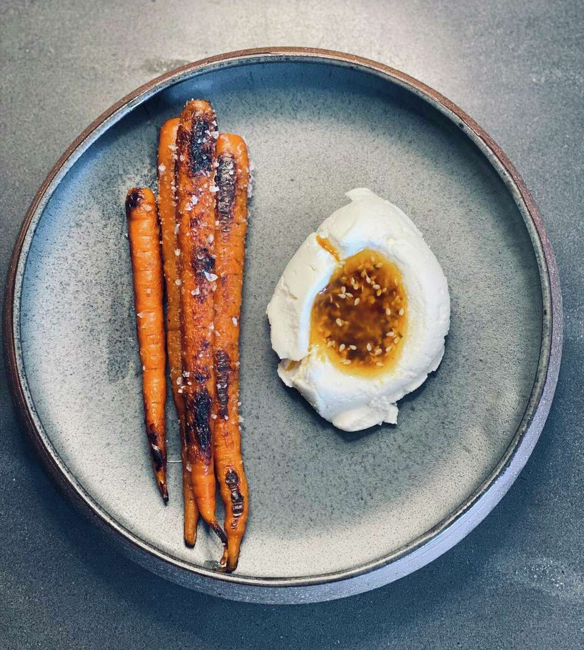 The ever-changing tasting menu might include carrots roasted in suadero fat at Kumo, a Mexican omakase restaurant coming to Olmos Park in November from the Mixtli team.