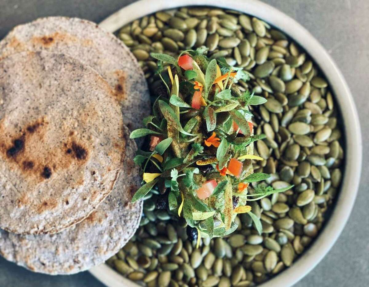The ever-changing tasting menu might include guacamole with chicatanas (ants) and heirloom blue corn tortillas at Kumo, a Mexican omakase restaurant coming to Olmos Park in November from the Mixtli team.