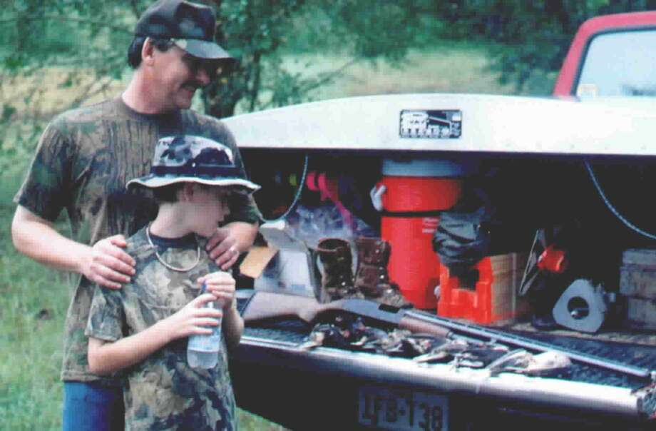 There are many rewards for both father and son who hunt together. Photo: Larry J. LeBlanc