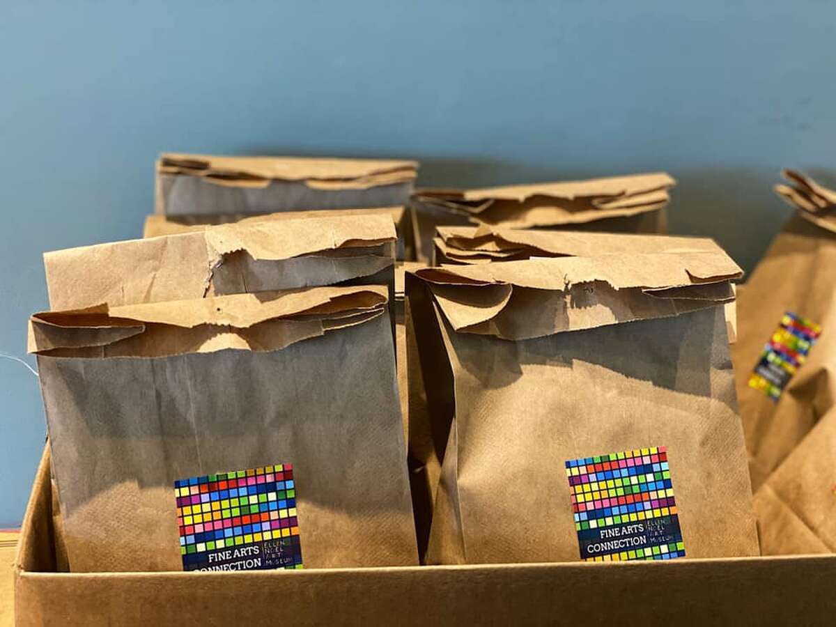 The Ellen Noel Art Museum is providing free art kits to kids through its Fine Arts Connection Program, which has moved online, according to a press release.