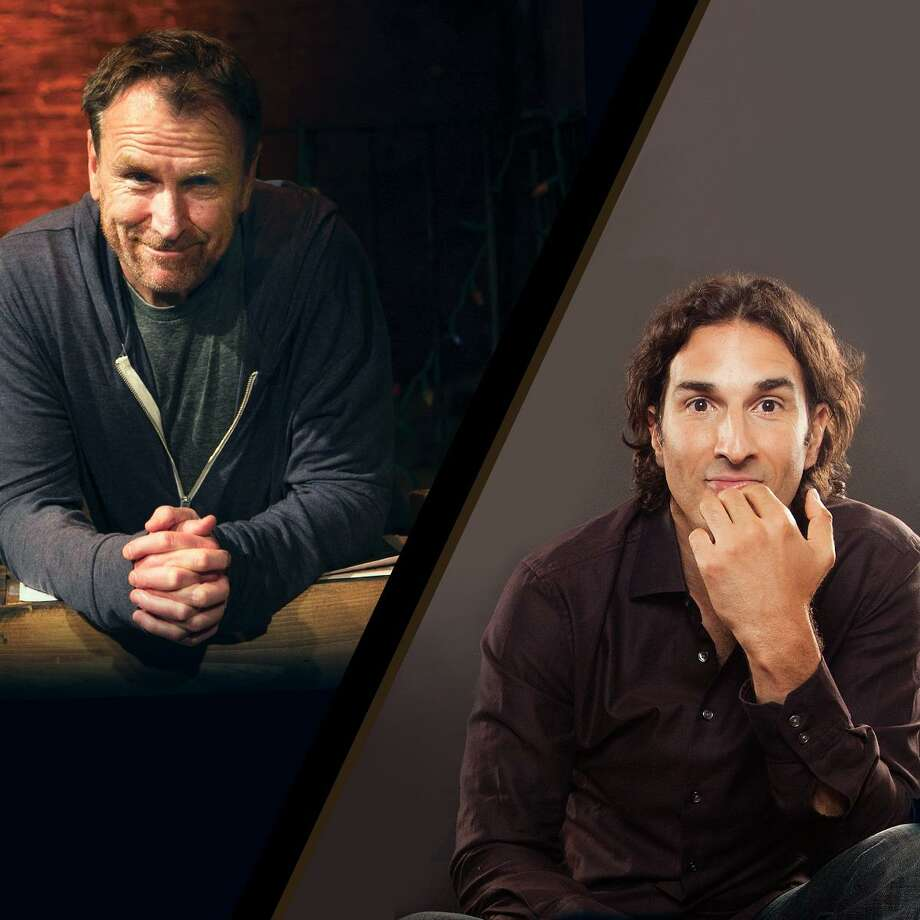 Colin Quinn and Gary Gulman return to the Ridgefield Playhouse for two outdoor shows Sunday, Oct. 11, at 4 and 7:30 p.m. Photo: Contributed / The Ridgefield Playhouse