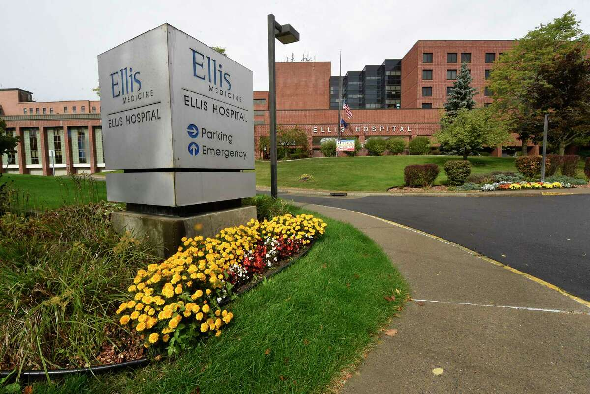 Exterior of Ellis Hospital on Wednesday, Oct. 7, 2020 in Schenectady, N.Y. (Lori Van Buren/Times Union)