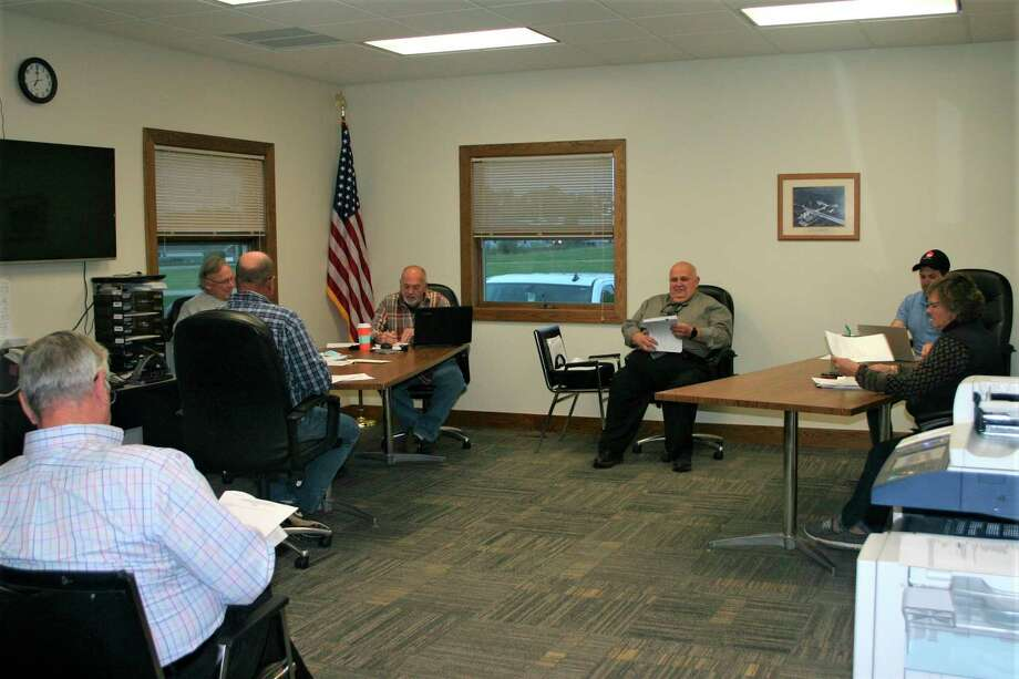 The Big Rapids Township Board of Trustees approved a proposal for upgrades to the sewer system in the Hills of Mitchell Creek subdivision at its meeting on Tuesday. (Pioneer photo/Cathie Crew)