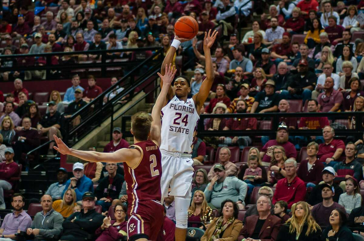 """Florida State shooting guard Devin Vassell projects as a prototypical """"3-and-D"""" wing in the NBA."""