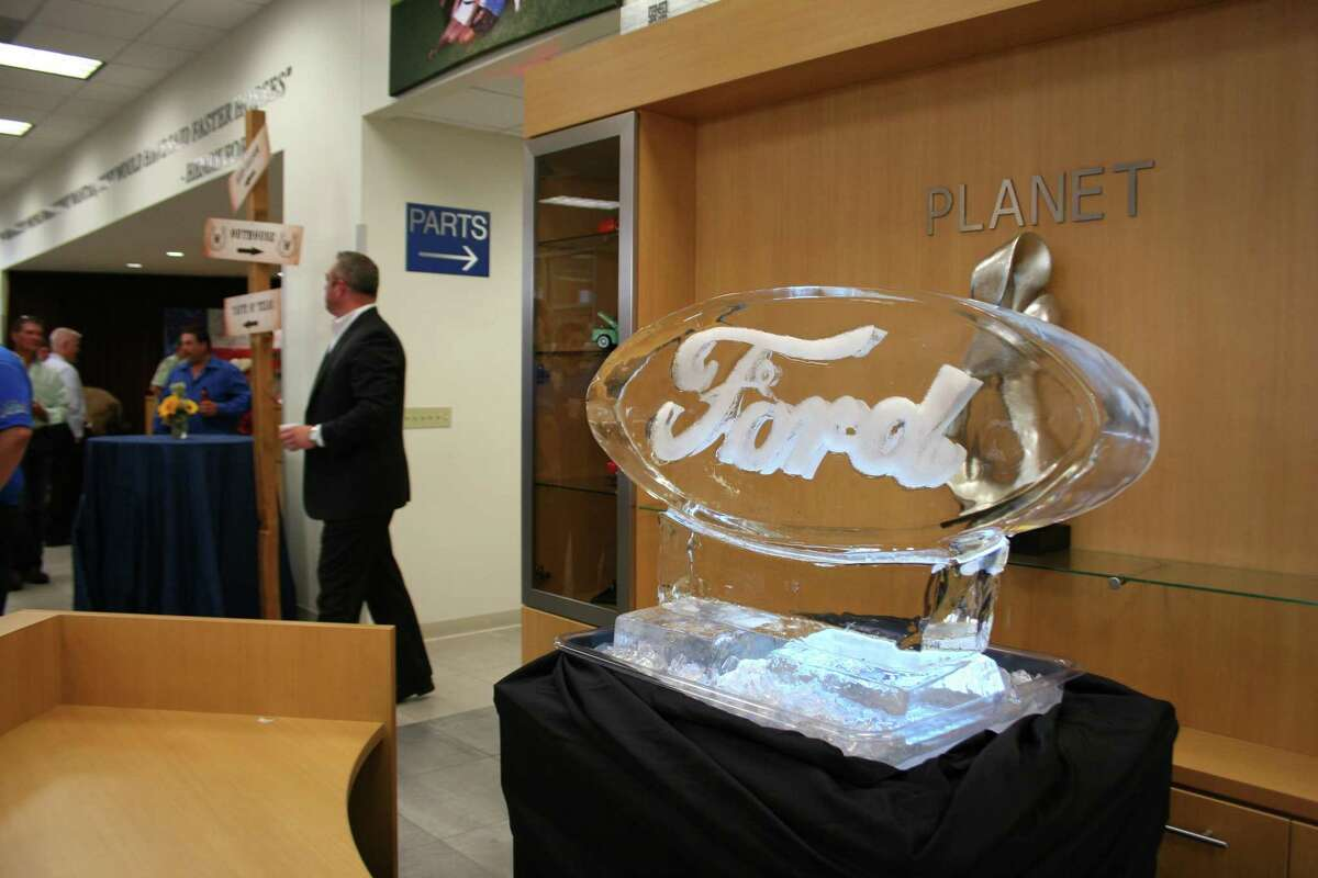 Randall Reed's Planet Ford in Humble celebrated the completion of its remodel with a Grand Opening event that featured stilt walkers, western wear outfitters, a live statue and other festivities.