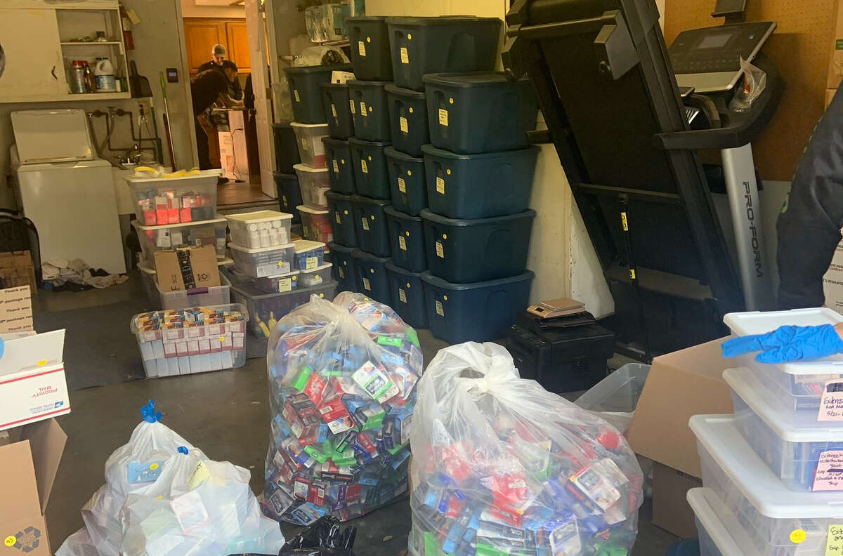 The San Mateo County Sheriff's office recovered approximately $8 million in stolen goods, as reported by CBS Bay Area.