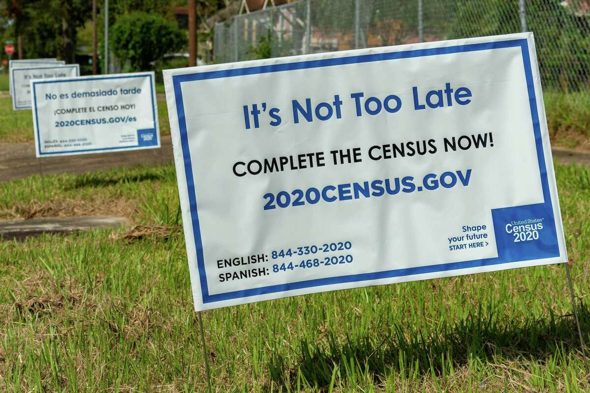 The deadline to complete to 2020 Census is Oct. 15.