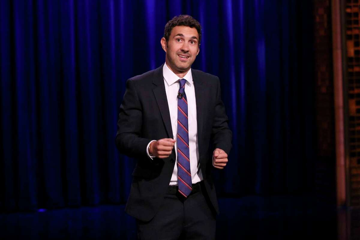 Comedian Mark Normand, seen here on